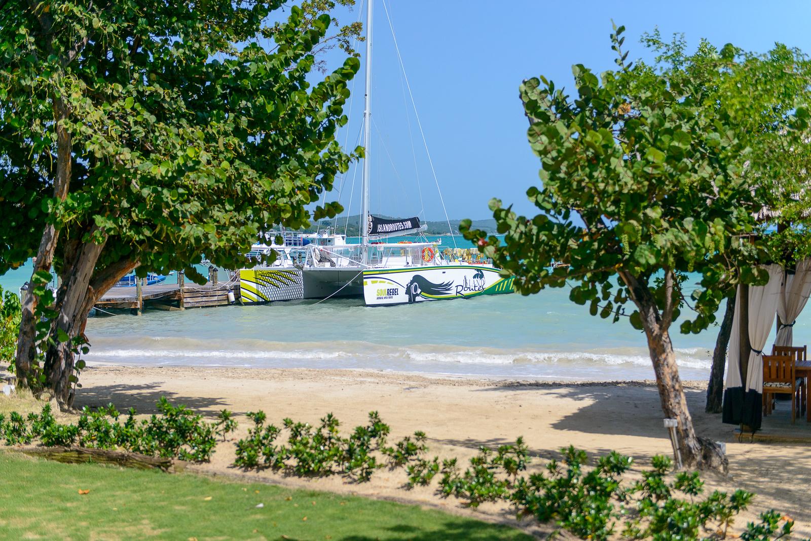 Island Routes catamaran