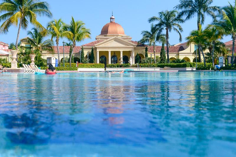 Chillin at the main pool