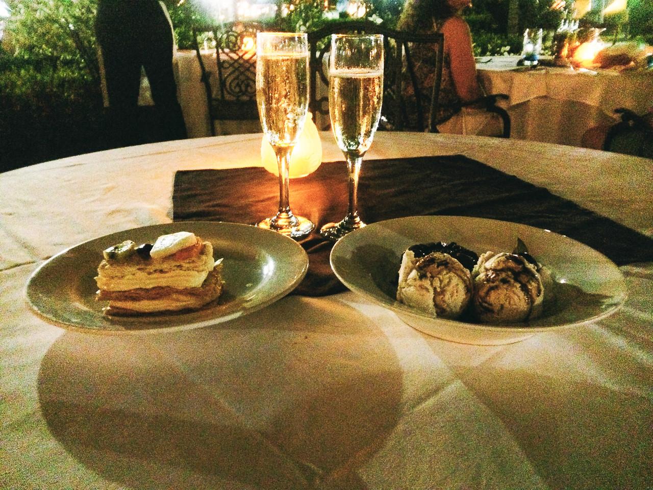 Dessert at Giuseppe's