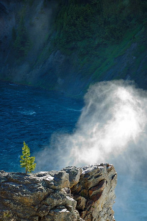 Spray from the Upper Falls