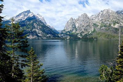 Jenny Lake and Cascade Canyon