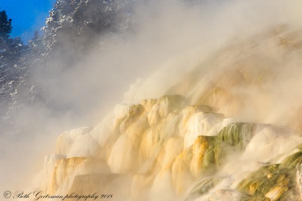 Maammoth Hot Springs - Yellowstone NP-3