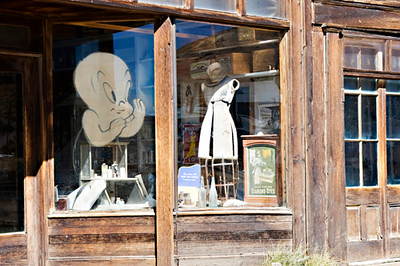 Bodie Ghost Town, there are ghosts here!