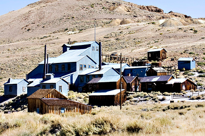 Bodie Ghost Town, old Mill.
