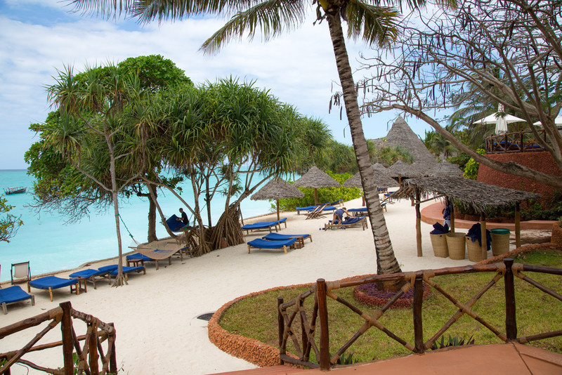Ras Nungwi Hotel in Zanzibar.