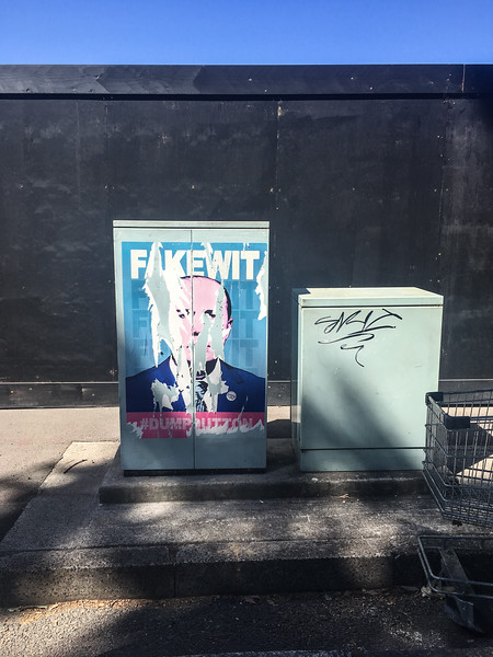 Dump Peter Dutton poster in Rushcutter's Bay.