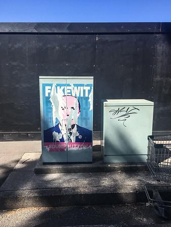 Dump Peter Dutton poster in Rushcutter's Bay.
