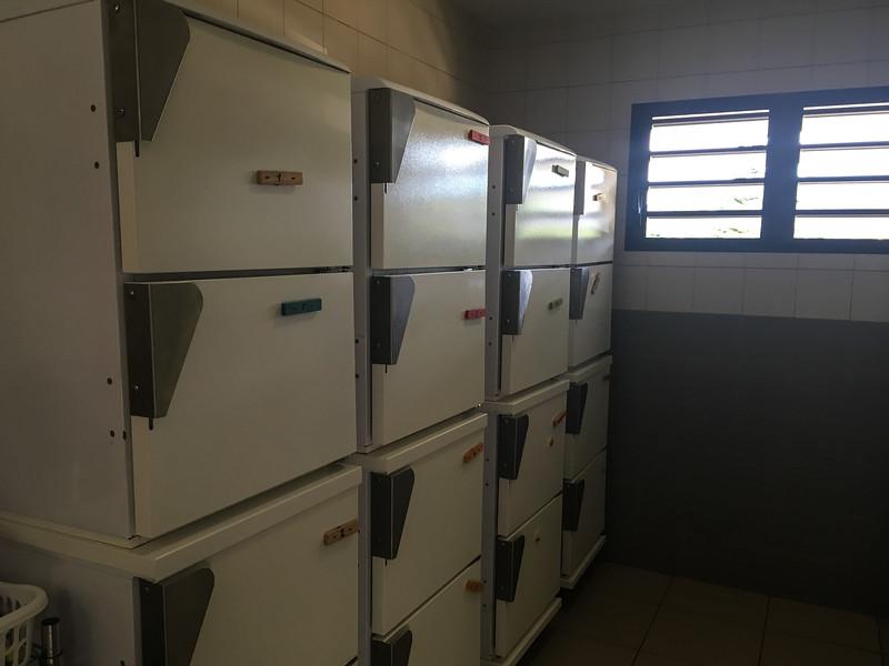 Auberge de Jeunesse personal fridges.