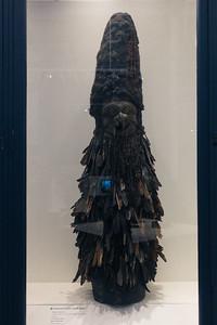 New Caledonian funerary headpiece in the Australian Museum.