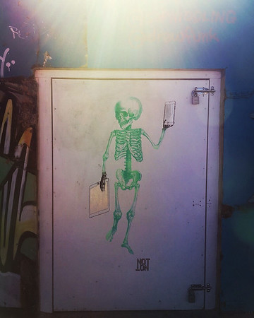 Bondi Beach artwork.