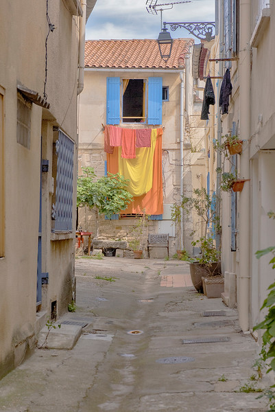Laundry day in Arles