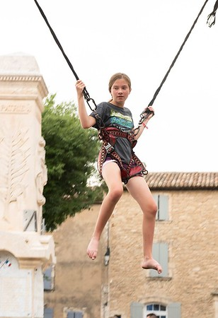 Emmie at Fete du Goult