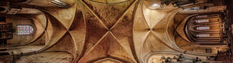 Ceiling of Eglise du Saint-Esprit
