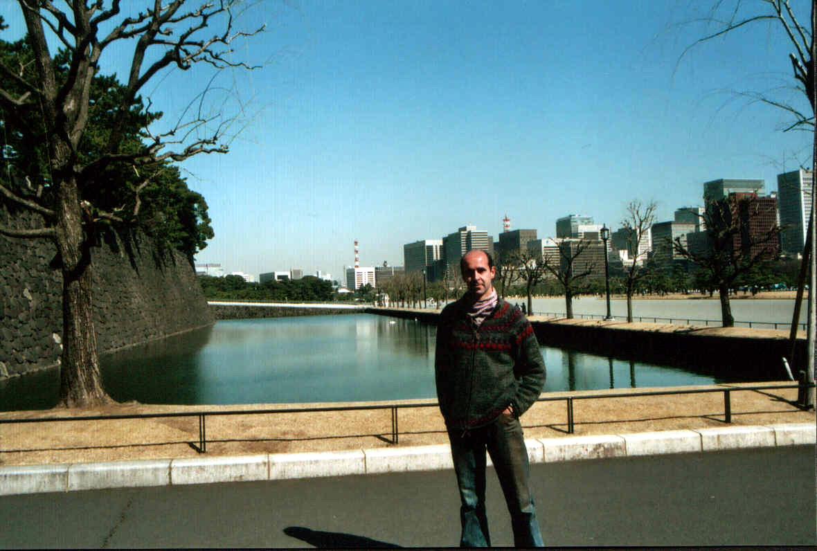 Alrededores del palacio imperial. (Tokyo)