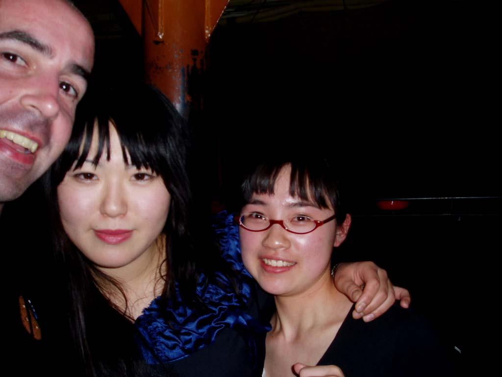 Mariko e Isako en Club Metro  :)