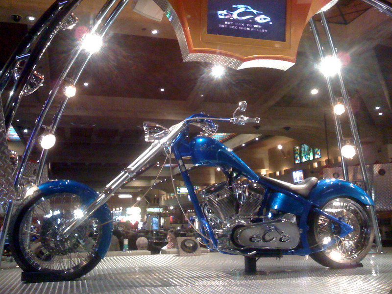 Orange County Choppers, Billy Joel, Britany Spears, David Copperfield...todos iban a estar en Vegas en un futuro proximo.
