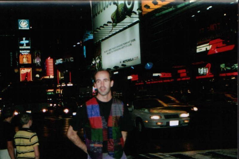 Times Square en el 2000 o 2001