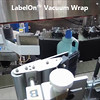 LabelOn™ Vacuum Wrap - Labels Completely Dispensed Before Application