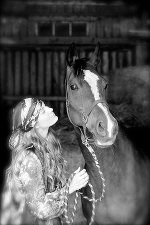 Horse whisperer / Fashion fotografering