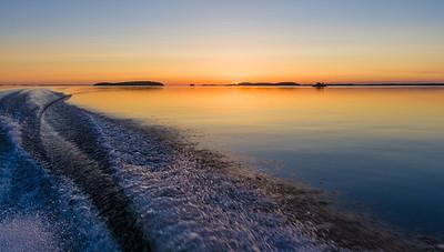 Fishing at Lake Saimaa 2012