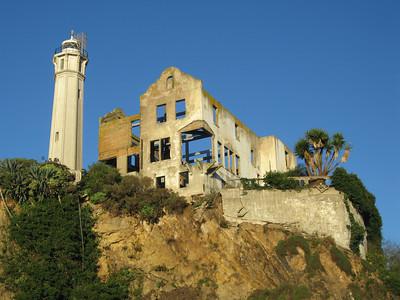 Alcatraz at sunrise, San Francisco, California.