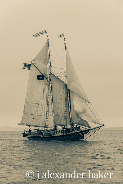 Louis R. French - Maine Schooner