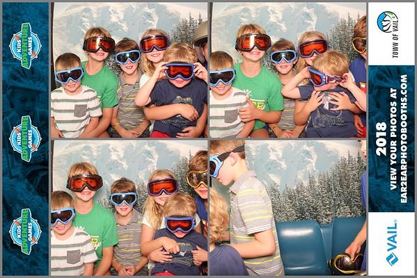Vail Kids Adventure Games Friday 2018