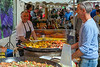Vaison Tuesday Market-the Happy Paella Man