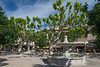 Streets of Vaison-Town Square 2872
