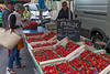 Vaison Tuesday Market-the Happy Strawberry Man