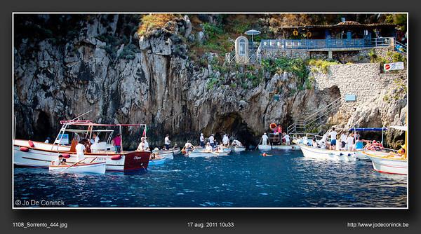 Blue Grotto, Capri (massatoerisme)