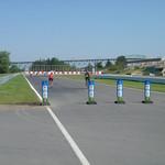Circuit wordt onder andere gebruikt door fietsers en skeelers