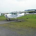 Ik ben met een instructeur wezen vliegen in de C-GUCU