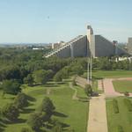 Uitzicht op het verblijf van de atleten (ten tijde van de Olympische Spelen)