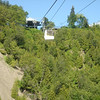 Waterval bij Quebec: Chute Montmorency; in de kabelbaan