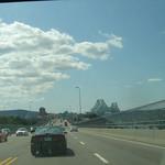 Weer terug in Montreal: brug Jacques Cartier