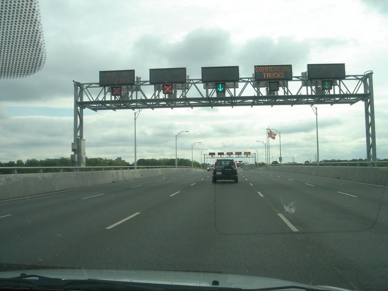 Op de brug naar Amerika