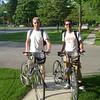 Terug van de fietstocht