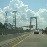 Bij Quebec de brug over richting Perce
