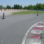 Meer bochten in het circuit
