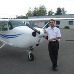 Mijn instructeur piloot Greg