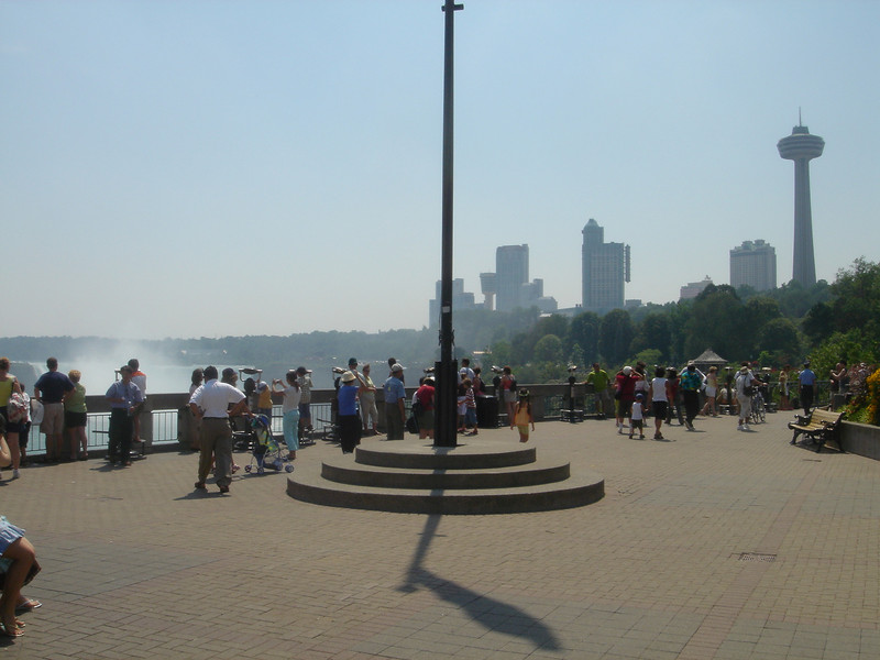 Het plaatsje Niagara