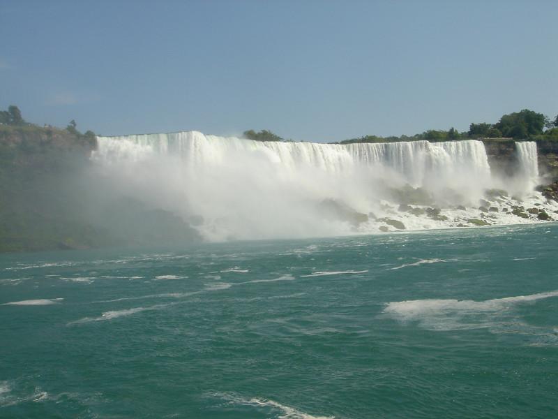 Onderweg naar de kleine waterval