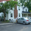 Ons pension en onze auto in Niagara-on-the-lake