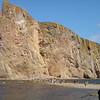 Onderweg naar de rotsformatie