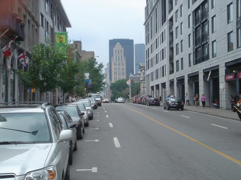 Straatbeeld in Montreal