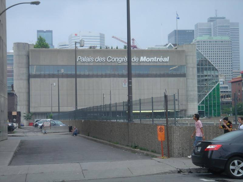 Nogmaals Palais des Congres, 4 dagen lang toneel voor de conferentie