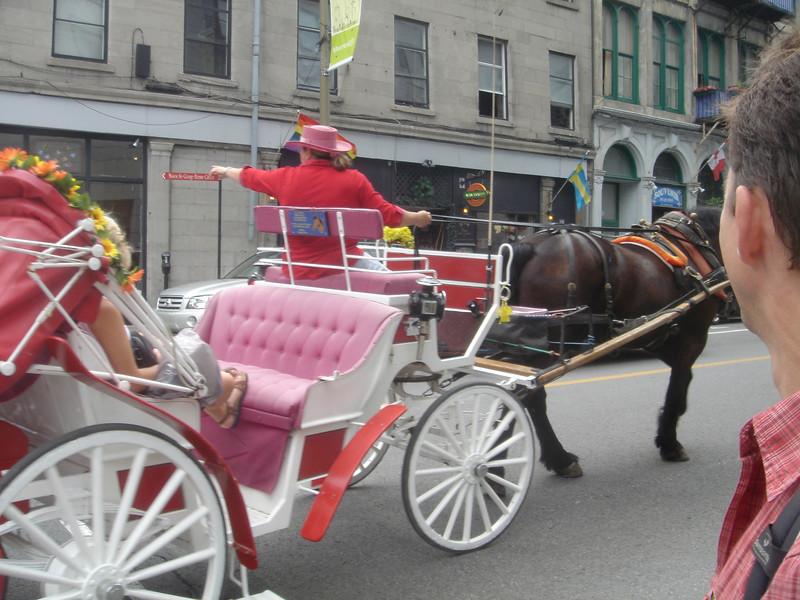 Toeristenvervoer in Montreal
