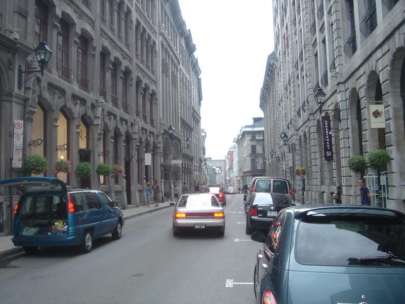 De oude binnenstad
