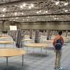 Grote zaal waar de conferentie van Vincent plaats vindt